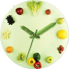 vegetable-clock